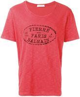 Pierre Balmain brand print T-shirt