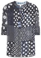 Diane von Furstenberg Esti Printed Silk Blouse