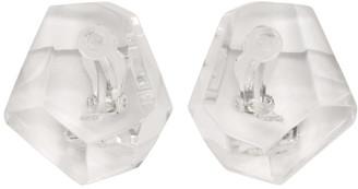 Monies Jewellery Transparent Monterrey Earrings