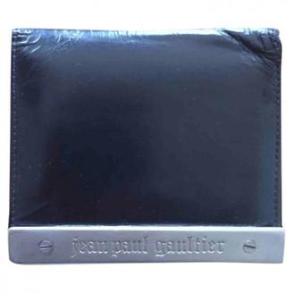 Jean Paul Gaultier Black Leather Wallets