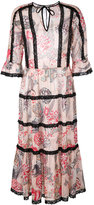 Temperley London 'Shire' printed dress - women - Polyester - 6