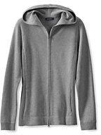 Classic Women's Regular Cotton Zip Hoodie Sweater-Woodland Pine