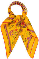 Hermes Carre Khanta Silk Scarf