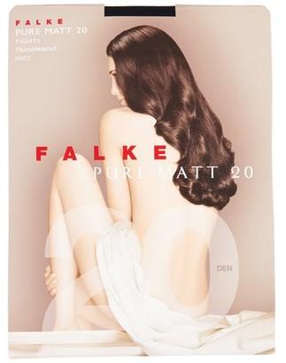 Falke Pure Matte 20 Denier Tights - Womens - Black