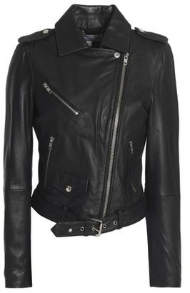 Muu Baa Muubaa Sandpiper Leather Biker Jacket