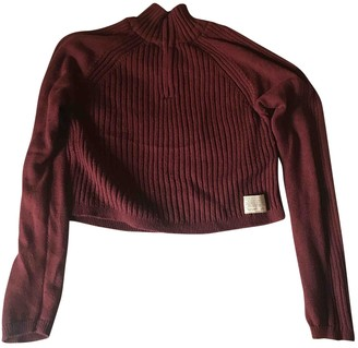 Urban Outfitters Burgundy Cotton Knitwear for Women