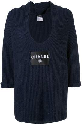 Chanel Pre-Owned cashmere knit top
