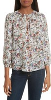 Rebecca Taylor Women's Ruby Floral Top