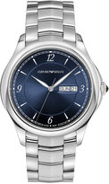 Emporio Armani Men's Swiss Automatic Stainless Steel Bracelet Watch 43mm ARS8602