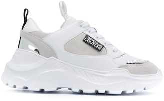 Versace Chunky Sole Low-Top Sneakers