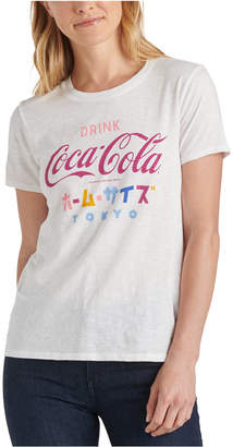 Lucky Brand Coca Cola Tokyo Graphic T-Shirt