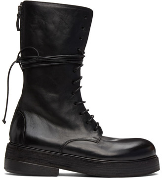 Marsèll Black Zuccolona High Boots