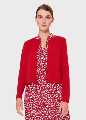 Hobbs Michelle Cotton Cashmere Cardigan