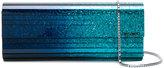 Jimmy Choo Sweetie glittered clutch - women - Leather/Plexiglass - One Size