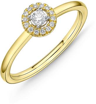 Memoire Stack 'Em Up 18K 0.10 Ct. Tw. Diamond Ring
