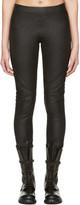 Gareth Pugh Black Leather Pants