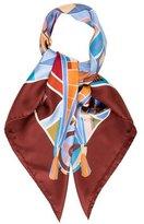 Hermes l'Art Indien Des Plaines Scarf
