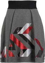 Just Cavalli Sequin-embellished stretch cotton-blend mini skirt