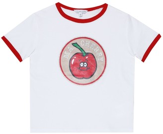 Little Marc Jacobs Printed cotton-jersey T-shirt