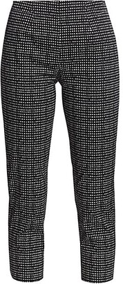 Piazza Sempione Audrey Micro Dot Cropped Pants
