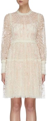 Needle & Thread 'Whitethorn' Mini Dress