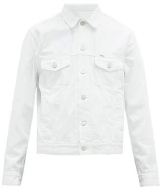 Polo Ralph Lauren Distressed Denim Jacket - Mens - White
