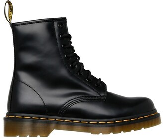 Dr. Martens 8 Eye Boot Black Smooth
