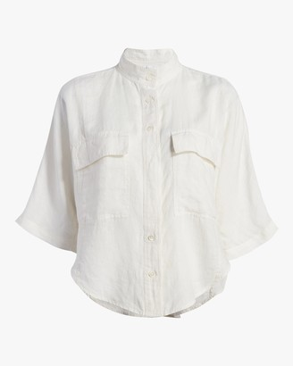 Frame Short-Sleeve Clean Safari Shirt