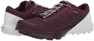 Salomon Sense Pro 4 (Winetasting/White/Icy Morn) Women's Shoes