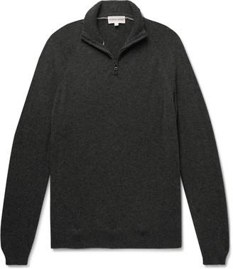 Derek Rose Finley 2 Cashmere Half-Zip Sweater