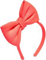 Billieblush Girls Bow Headband