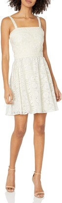 Paper Crown Women's Rockport Fit and Flare Dress