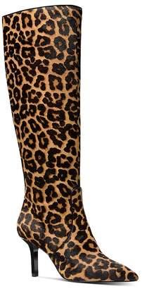 MICHAEL Michael Kors Women's Katerina Leopard-Print High-Heel Boots