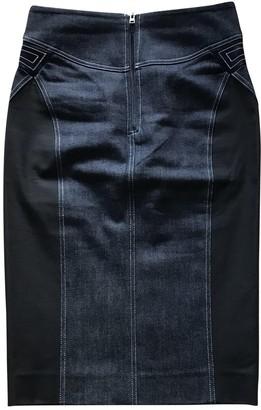 Diane von Furstenberg Blue Cotton - elasthane Skirts