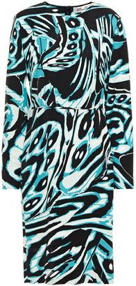 Diane von Furstenberg Inye Printed Stretch-crepe Dress