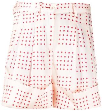 Jejia Polka-Dot Tailored Shorts