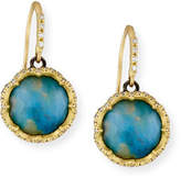 Armenta Old World Peruvian Opal Earrings with Diamonds