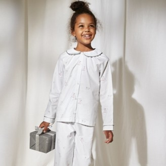 The White Company Mistletoe Fairy Woven Pyjamas (1-12yrs), White, 2-3yrs