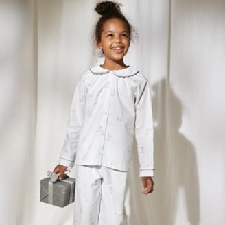 The White Company Mistletoe Fairy Woven Pyjamas (1-12yrs), White, 7-8yrs