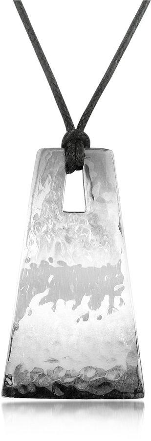 Torrini Bilbao Sterling Silver Pendant w/Lace