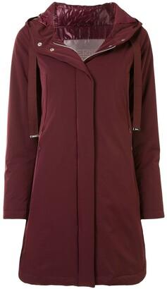 Herno Zip-Away Hooded Coat