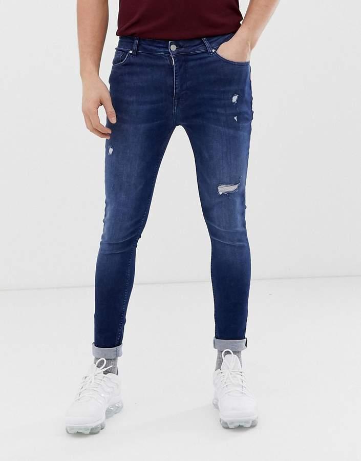16baf5891fa14 Asos Men's Distressed Jeans - ShopStyle
