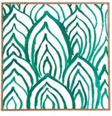 DENY Designs 'Emerald Coast' Framed Wall Art