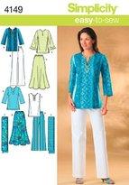 Simplicity Sewing Pattern 4149 AA Miss/ Plus Size Sportswear