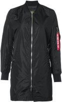 Alpha Industries L-2B Long Jacket - women - Nylon - XS