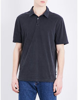 James Perse Cotton-jersey Polo Shirt
