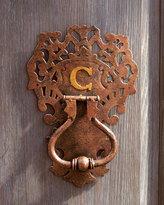 Monogrammed Door Knocker