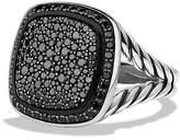 David Yurman Albion Ring with Black Diamonds