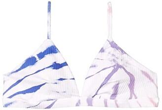 Hurley Rib Spider Royale Tri Surf Top (Racer Blue) Women's Swimwear