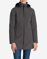 Eddie Bauer Women's Windfoil® Elite Hooded Trench Coat II